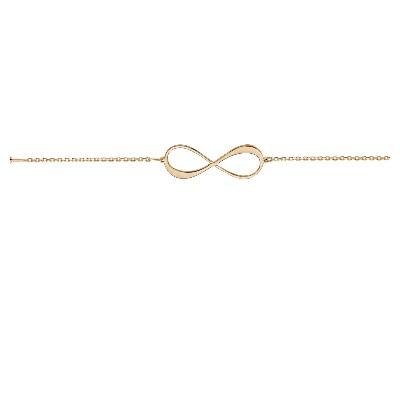 nouveau style beaucoup à la mode meilleure vente bracelet infini 2 prénoms