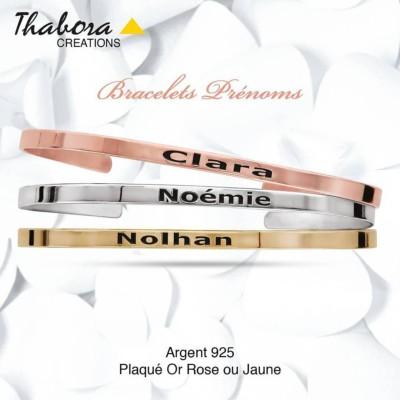 Découvrez notre collection de Bracelets, pour femme, à personnaliser en  argent 925, en plaqué or jaune et plaqué or rosé. 4747d34577b6
